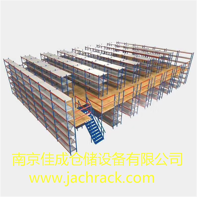 南京某汽车4S店售后车间库房货架项目