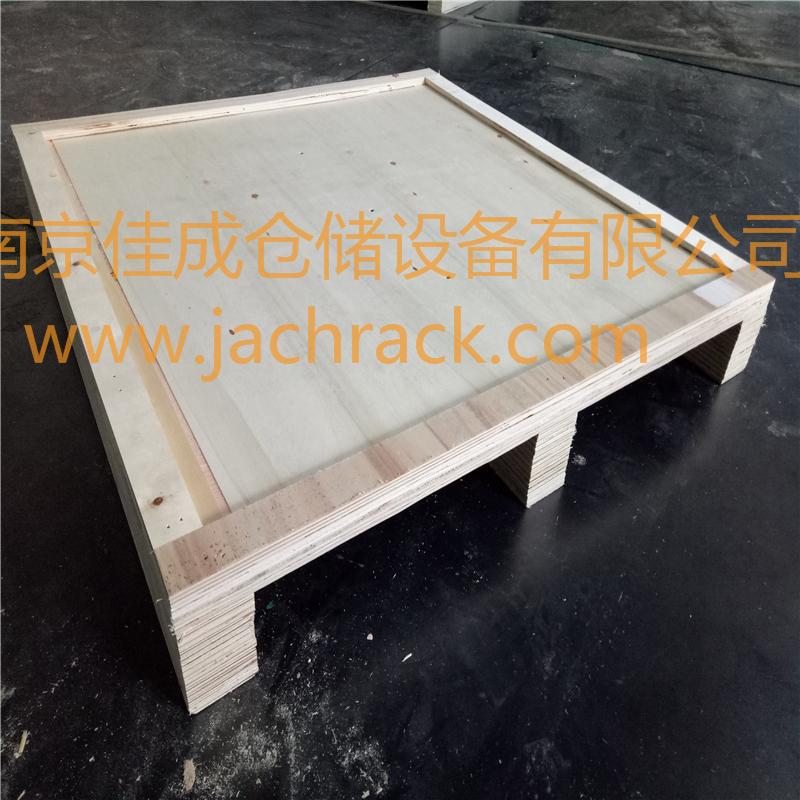 南京江宁某大型上市公司定制胶合板托盘顺利交付合作