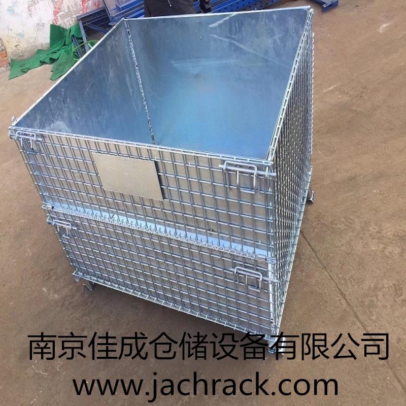 浙江嘉兴某塑业有限公司折叠仓储笼项目交付