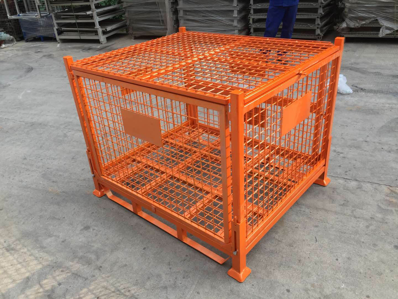 天津港口某公司折叠料架料箱